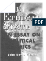 The Ethical State 270pgs by John David Garcia