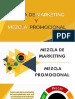 Semana 2 MEZCLA DE MARKETING Y MEZCLA PROMOCIONAL