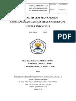 4D4 - Kel 1 - 2016 - Tugas 3 - Manual SMK3 Industri   Makanan