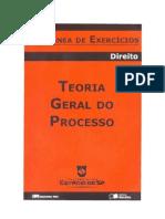 Coletânea de Exercícios - Teoria Geral do Processo (1º semetre 2008)(doc)(rev)