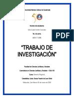 TRABAJO INVESTIGACION PRINCIPIOS