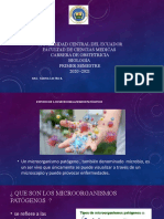 Microrganismos Patógenos  Ppt