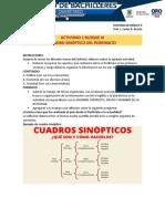 A1BIII CUADRO SINÓPTICO PORFIRIATO HISTORIA DE MÉXICO II