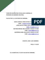 EL ACCIDENTE DE LA PLANTA NUCLEAR DE CHERNOBIL plan lector