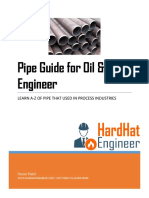 Fundamentals of Pipe Used in Oil and Gas