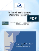 Market Research on EA Social Media Games