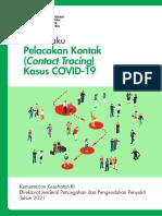 Buku Saku Pelacakan Kontak Kasus Covid-19 Edisi Revisi I