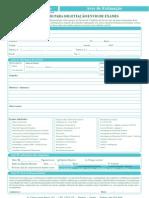 Formulário envio de exames