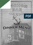 anchor bar dinner