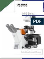 OPTIKA Microscopy Catalog - Laboratory - IM-5 (1)