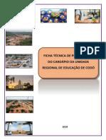Ficha Técnica de Preparação URE de Codó