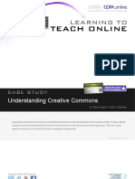 Learning to Teach Online - Case Study