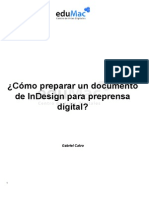 Tutorial preprensa inDesign