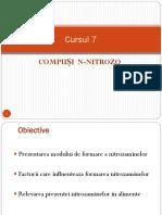 Cursul 7 Contamin Nitrozo