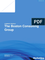 The boston consulting group analisys