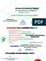Avantajele incrierii in PRIDE -U - 133138