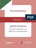 Módulo 3. Triaje Extrahospitalario Básico - Estudio