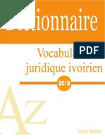 Extrait Vocabulaire Jurisique 2019