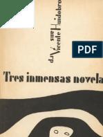 tres inmensas novelas, jean arp