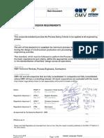 Engineering 0016 General Process Design Requirements