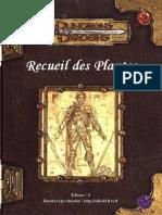 DD3 - D20 - fr - Recueil des Plantes -SwOdniWer & BlueAce