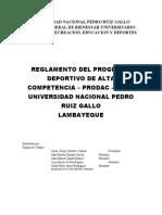 Act - 114 PROPUESTA DE  REGLAMENTO PRODAC r