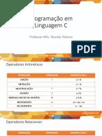 10.1 Operadores Aritméticos