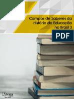 eBook Campos de Saberes Da Historia Da Educacao No Brasil 3