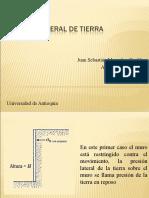EMPUJES DE TIERRA Y MUROS DE CONTENCIÓN
