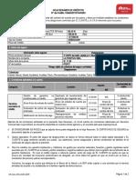 HOJA DE RESUMEN DESEMBOLSO - MODELO