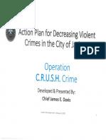Jackson Crime Plan 2021