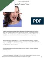 Anatomia e Fisiologia da Produção Vocal - Portal Educação