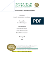 FORMAS DE ORGANIZACIÓN DE LA ADMINISTRACIÓN PÚBLICA