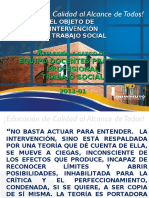 OBJETO DE INTERVENCION-ESTUDIO EN T S  2013
