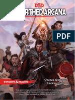 D&D 5E - Unearthed Arcana - Opções de Raças - Eladrin E Gith - Biblioteca Do Duque