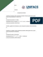 5 - Atividade cálculo de sub-redes (não enviada)