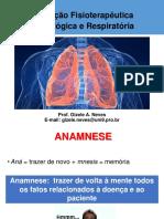 avaliação fisio Neurologica e Respiratoria