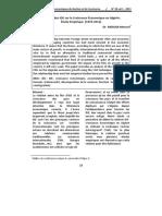 L'Impact Des IDE Sur La Croissance Économique en Algérie_ Étude Empirique 1970-2012