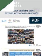 Rendición de Cuentas 2019-Distrito 10D02 Antonio Ante-Otavalo-Educación