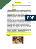 Caracteristicas del museo de Cera en Quito