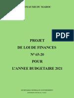 Corps de La Loi Finance 2021