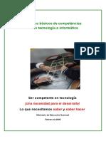 Estándares básicos de competencias en tecnología e informática Version15 MEN COLOMBIA