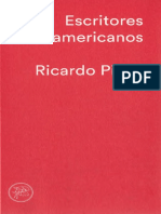 PIGLIA Ricardo - Escritores Norteamericanos