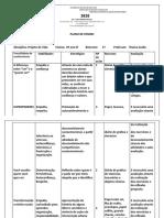 Plano de Ensino 2020 - 8 ano EF 2