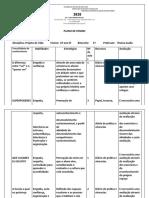 Plano de Ensino 2020 - 6 ano EF
