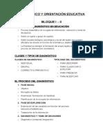 Diagnòstic i Orientació Educativa