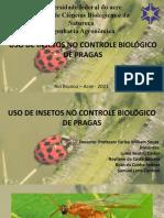 Seminário de Entomologia - Insetos como agentes de controle biológico.