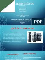 BREAKERS- RIESGO ELECTRICOS Y MECANICOS DIAPOSITIVA