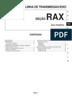 RAX Transmision Trasera, Diferencial