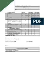 instrumento avaliação de projecto integrado
